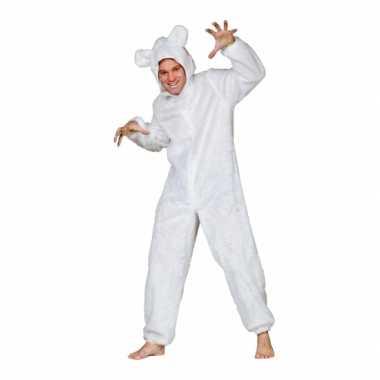 Carnaval ijsberen kostuumje volwassenen