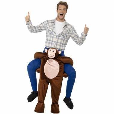 Carnaval instap dierenkostuum aap volwassenen