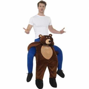 Carnaval instap dierenkostuum beer volwassenen