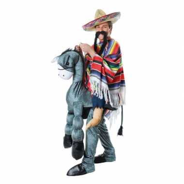 Carnaval  Instap kostuum Mexicaan ezel