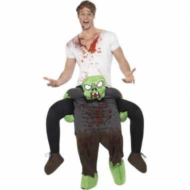 Carnaval instapkostuum zombie volwassenen