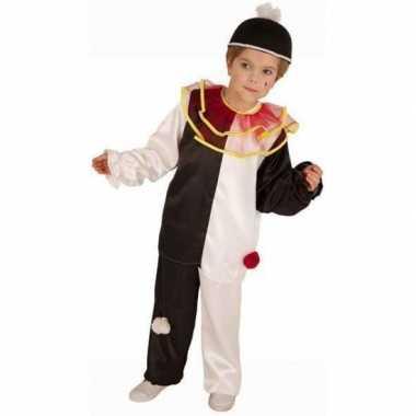Carnaval  Italiaans clown kostuum kinderen