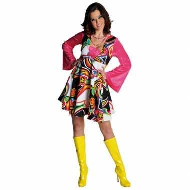 Carnaval  Jaren bloemen kostuum jurk dames