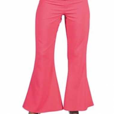 Carnaval  Jaren dames broek roze kostuum