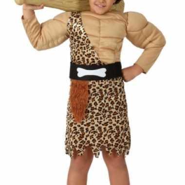 Carnaval  Jongens kostuum holbewoner