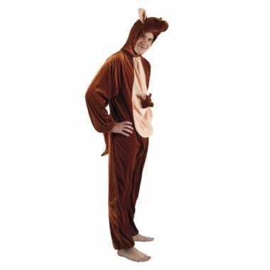 Carnaval kangoeroe dierenkostuum heren