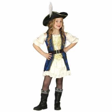 Carnaval  Kapiteinskostuum piraat meisjes