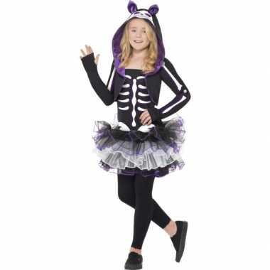 Carnaval  Kat skelet kostuum kids