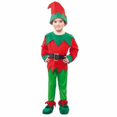 Carnaval  Kerst elf kostuum een kind