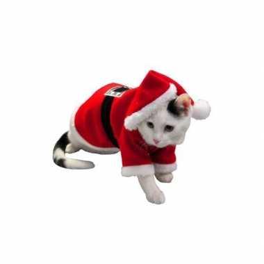 Carnaval kerst kostuum hond of kat