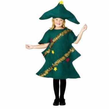 Carnaval  Kerstboom kostuum kinderen
