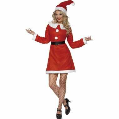 Carnaval  Kerstjurkje dames kostuum