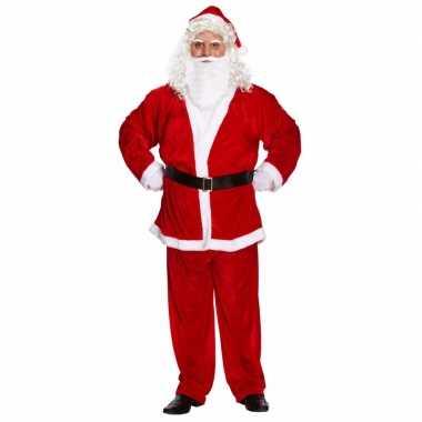 Carnaval kerstman kostuum heren xxl