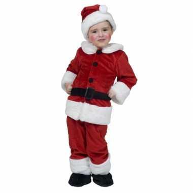 Carnaval kerstman kostuum kinderen 10042405