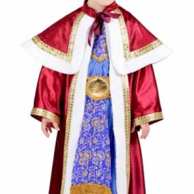 Carnaval  Kerstmis kids kostuum Melchior