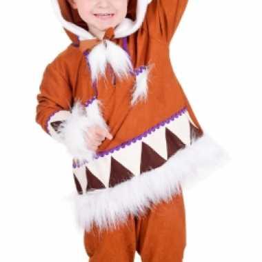 Carnaval  Kids eskimo kostuum compleet