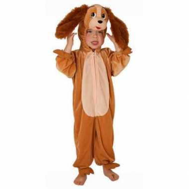 Carnaval  Kinder pluche honden kostuum