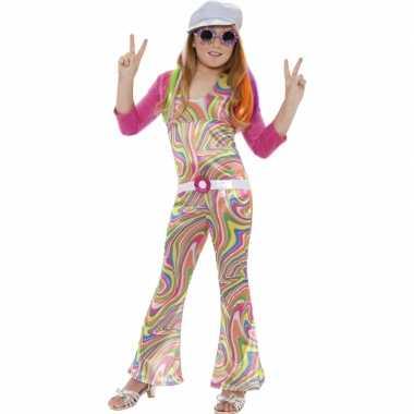 Carnaval  Kleurrijke kostuum meisjes