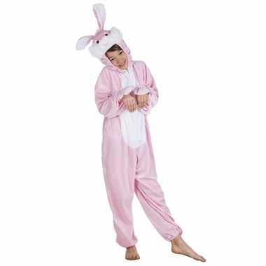 Carnaval konijn dierenkostuum kinderen