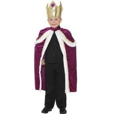 Carnaval  Koningen kostuum kids
