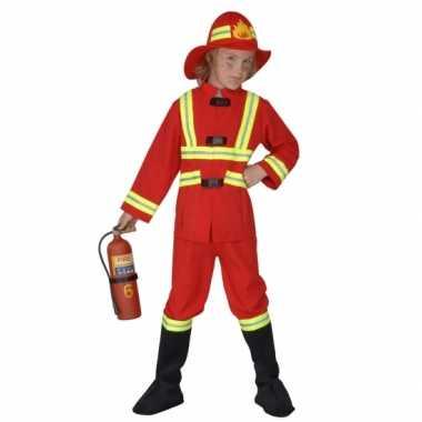 Carnaval  Kostuum brandweer kinderen