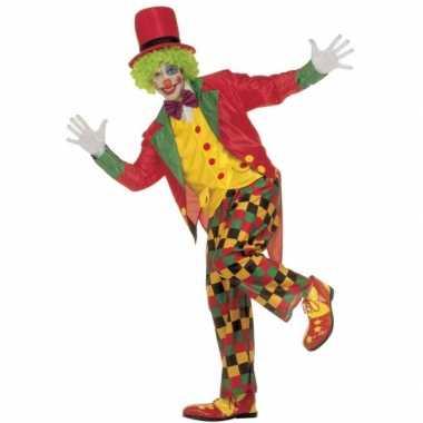 Carnaval  Kostuum Clown volwassenen