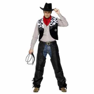 Carnaval  Kostuum Cowboy heren
