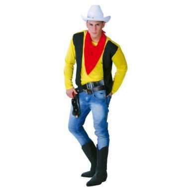Carnaval kostuum cowboy mannen