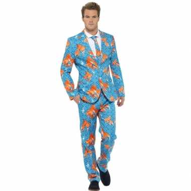 Carnaval  Kostuum heren maatkostuum goudvissen