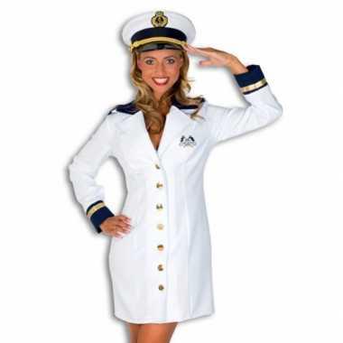 Carnaval  Kostuum Kapitein dames