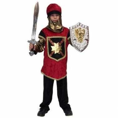 Carnaval kostuum ridder kinderen