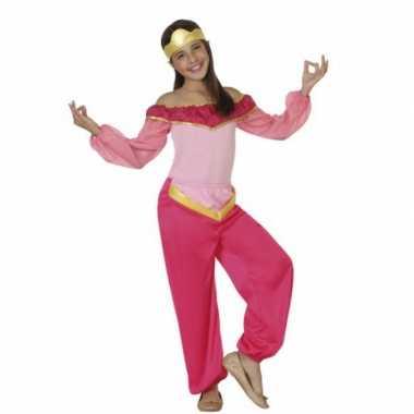 Carnaval  Kostuum roze arabische prinses