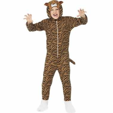 Carnaval  Kostuum tijger all-one kinderen