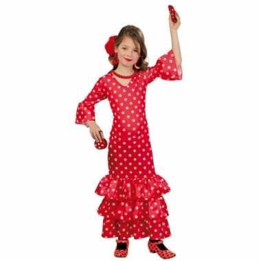 Carnaval  Lange Spaanse kostuum jurk meisjes