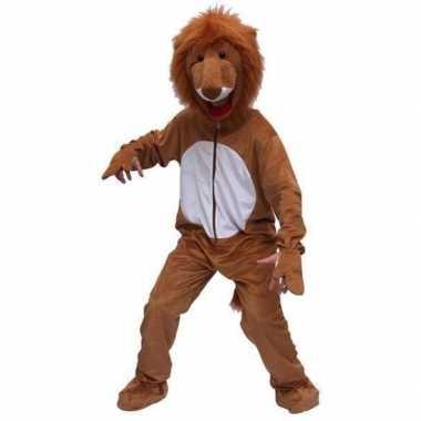 Carnaval leeuwen kostuumken bruin