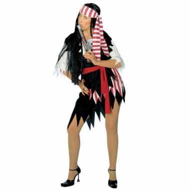 Carnaval  Leuk piraten kleding dames kostuum