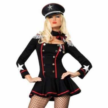 Carnaval  Leuk sexy generaal kostuum jurkje dames