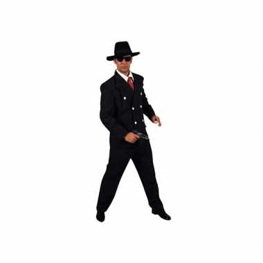 Carnaval Maffia kleding heren kostuum