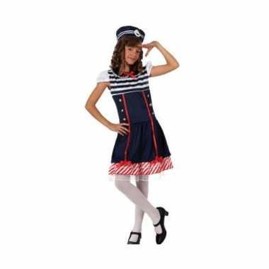 Carnaval  Maritiem kostuum jurkje meiden