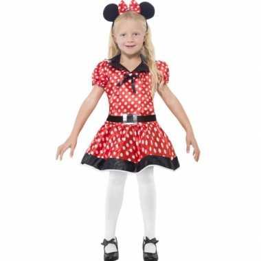Carnaval meisjes minnie mouse kostuum
