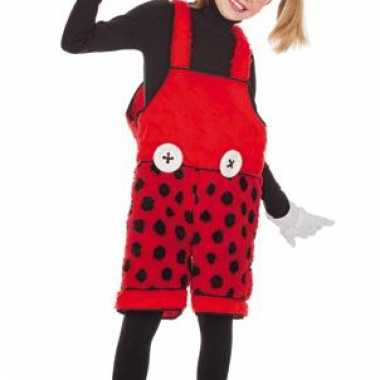Carnaval mickey mouse kinder tuinbroek kostuum
