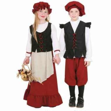 Carnaval  Middeleeuws meisjes kostuum