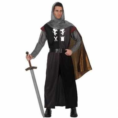 Carnaval middeleeuws ridder verkleed kostuum heren