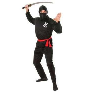 Carnaval ninja warrior kostuumken heren 10051514