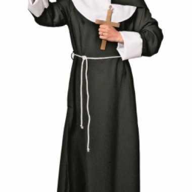 Carnaval nonnen kostuum jurk dames