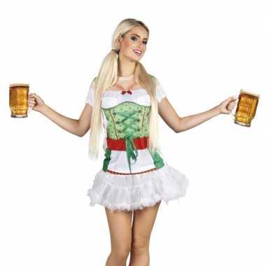 Carnaval oktoberfest kostuum tiroler oktoberfest opdruk dames