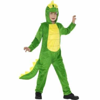 Carnaval onesie krokodil kids kostuum