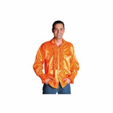 Carnaval  Overhemd heren rouches kostuum