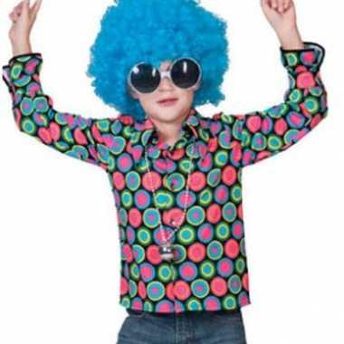Carnaval  Overhemd s disco print kinderen kostuum