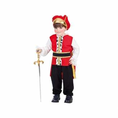 Carnaval  Peuter kostuumje koning
